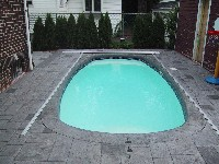 Palm Beach Fiberglass Pool in Strathmere, NJ